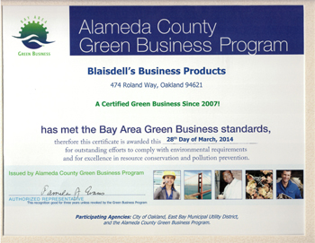 Alameda County Green Business Certificate_WEB