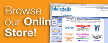 Online Store, blaisdell's business products, bay area, local