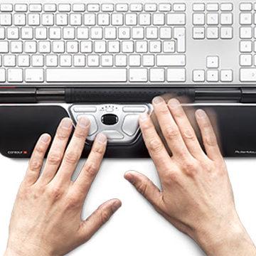 ergonomic keyboard pad