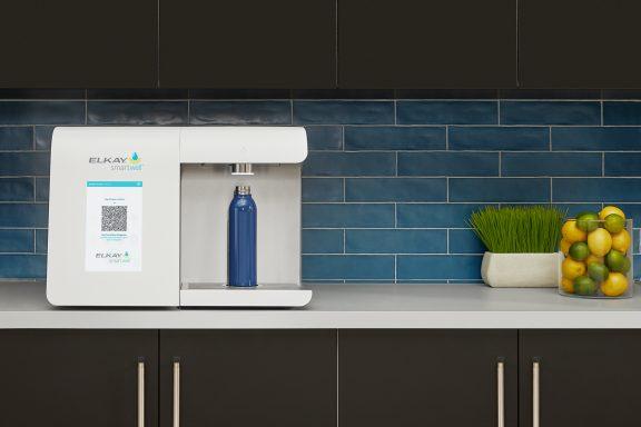smartwell by elkay countertop water dispensing unit