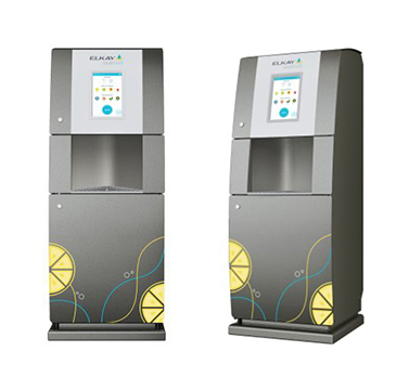 smartwell by elkay floorstand water dispensing unit