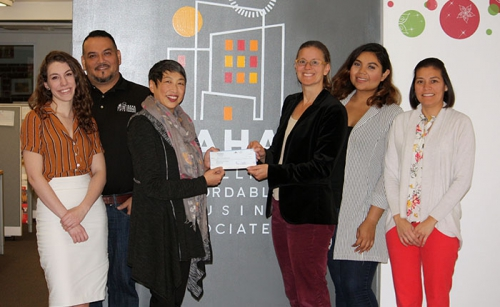 Satellite Affordable Housing Associates Donation