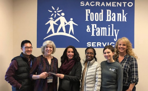 Sacramento Food Bank & Family Services Donation