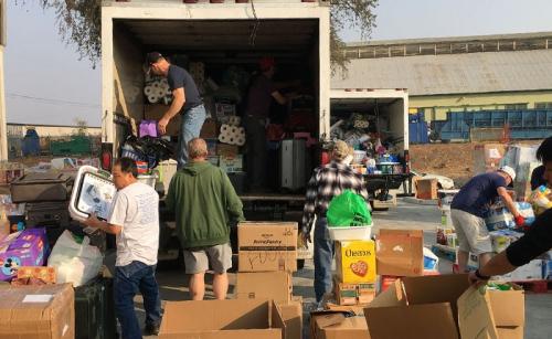California Fire Relief Efforts