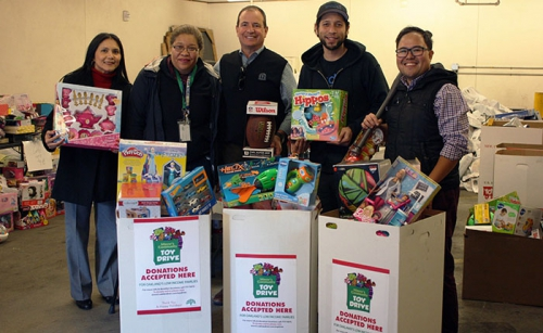 City of Oakland Toy Collection Drive
