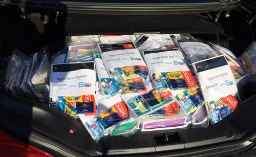 San Francisco School Supply Donation